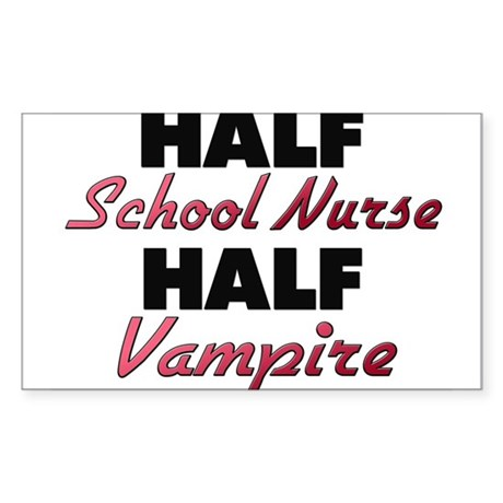 Half School Nurse Half Vampire Sticker