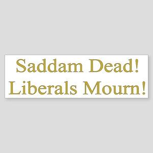 Liberals Mourn Bumper Sticker
