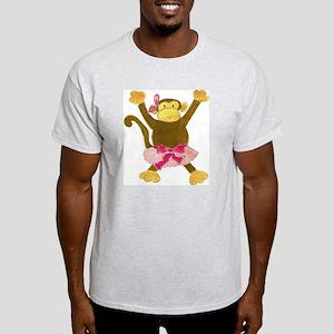 Tutu Tumbling Monkey Light T-Shirt