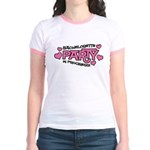 Bachelorette Party Hearts Jr. Ringer T-Shirt