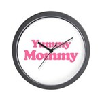 Yummy Mommy Wall Clock