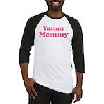 Yummy Mommy Baseball Jersey