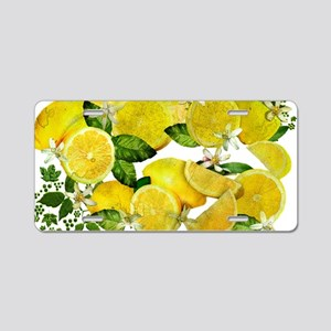 Acid Lemons from Calabria ( Aluminum License Plate