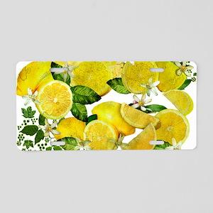 Acid Lemons from Calabria ( Aluminum License Plate