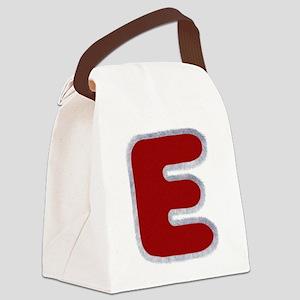E Santa Fur Canvas Lunch Bag