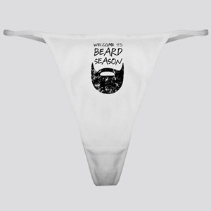 Welcome to Beard Season Classic Thong