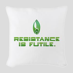 Star Trek Borg - Resistance Woven Throw Pillow