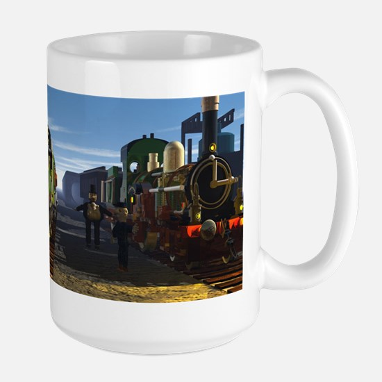The Flying Scotsman and the Dutchman Mugs