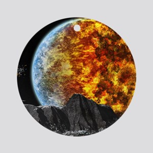 End of the World Ornament (Round)