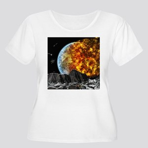 End of the World Plus Size T-Shirt