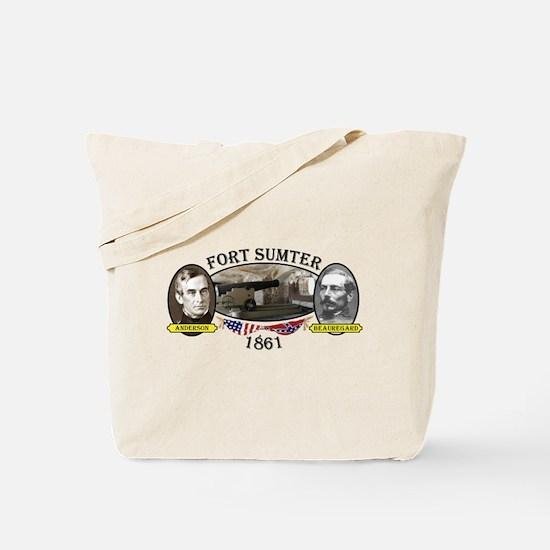 Fort Sumter Tote Bag
