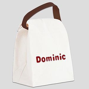 Dominic Santa Fur Canvas Lunch Bag