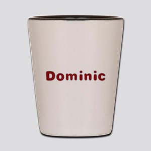 Dominic Santa Fur Shot Glass