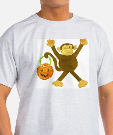 Halloween Tumbling Monkey T-Shirt