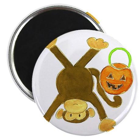 Halloween Tumbling Monkey Upside Down Magnet