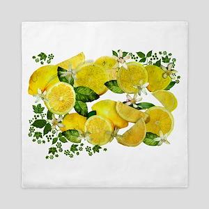 Acid Lemons from Calabria (Vintage Edi Queen Duvet