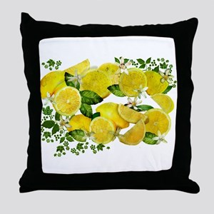 Acid Lemons from Calabria (Vintage Ed Throw Pillow