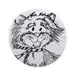 Cats To Color Ornament (Round)
