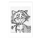 Cats To Color Postcards (Package of 8)