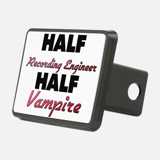 Half Recording Engineer Half Vampire Hitch Cover