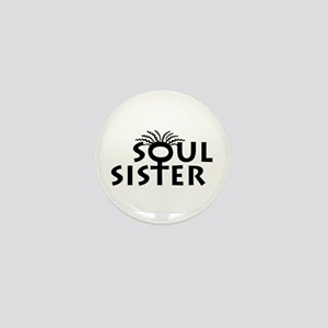Soul Sister Mini Button