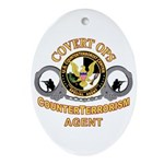CounterTerrorism Oval Ornament