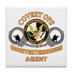 CounterTerrorism Tile Coaster