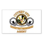 CounterTerrorism Rectangle Sticker