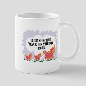 1983 Year Of The Pig Mug