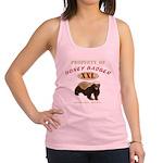 Property of Honey Badger Racerback Tank Top