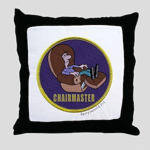 Chairmaster Award Throw Pillow