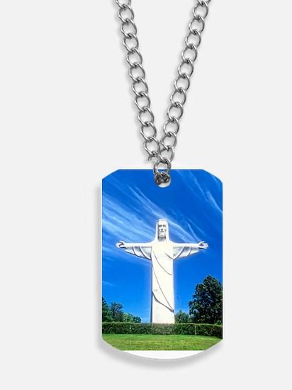 Christ of the Ozarks Dog Tags