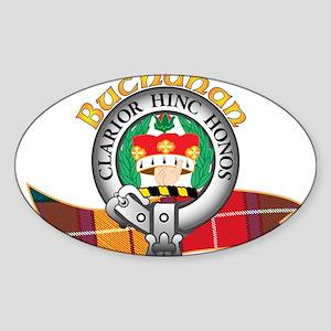 Buchanan Clan Sticker