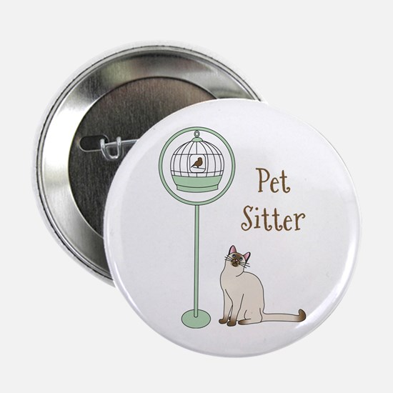 "Pet Sitter 2.25"" Button"