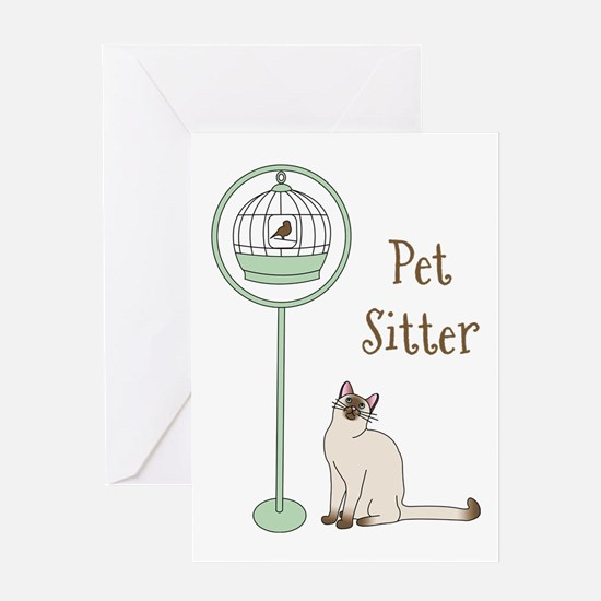 Pet Sitter Greeting Cards
