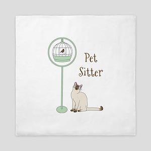 Pet Sitter Queen Duvet