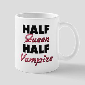 Half Queen Half Vampire Mugs