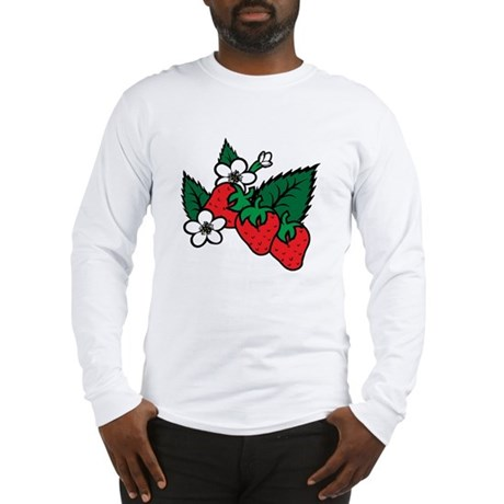 Strawberries Long Sleeve T-Shirt