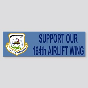 Support The 164th AW (Bumpersticker)