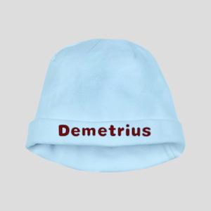 Demetrius Santa Fur baby hat