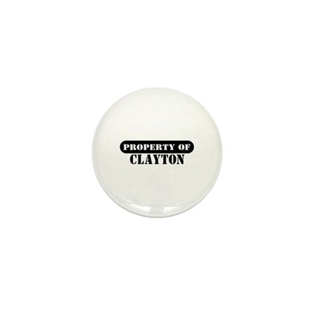 Property of Clayton Mini Button (10 pack)