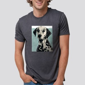 Dalmatian Mens Tri-blend T-Shirt