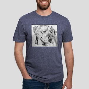 Yellow Labrador retriever Mens Tri-blend T-Shirt