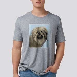 Polish Lowland Sheepdog Mens Tri-blend T-Shirt