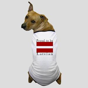 Latvia Dog T-Shirt
