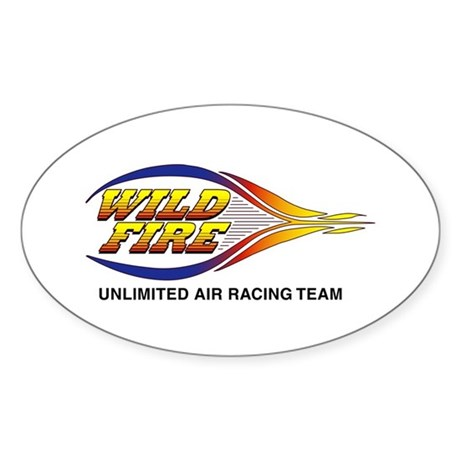 Wildfire Logo Oval Sticker
