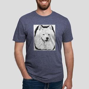 Samoyed Mens Tri-blend T-Shirt