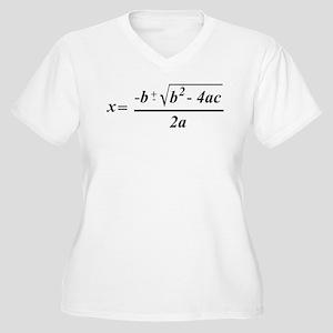 The Quadratic Formula Awesome Math Women's Plus Si