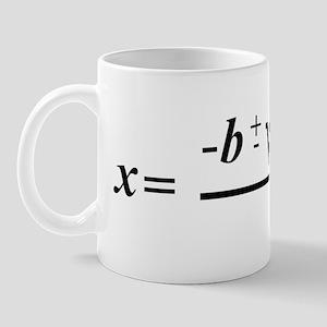 The Quadratic Formula Awesome Math Mug