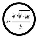 The Quadratic Formula Awesome Math Round Car Magne